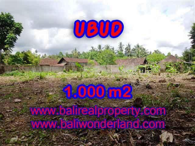 Land in Ubud Bali for sale, Exotic view in Ubud Center – TJUB373