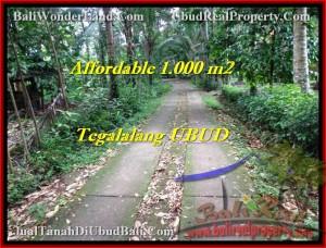 Affordable LAND IN Ubud Tegalalang BALI FOR SALE TJUB467