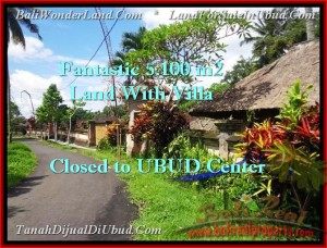 FOR SALE Magnificent PROPERTY 5,100 m2 LAND IN UBUD BALI TJUB468