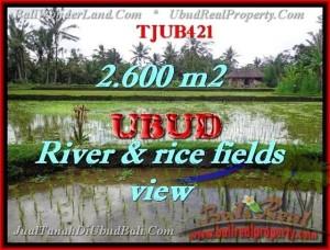 Exotic UBUD 2,600 m2 LAND FOR SALE TJUB421