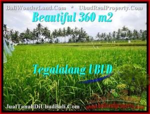 Affordable PROPERTY 360 m2 LAND FOR SALE IN UBUD BALI TJUB482