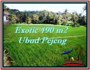Affordable 490 m2 LAND SALE IN UBUD TJUB512