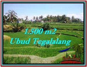 FOR SALE Affordable 1,500 m2 LAND IN UBUD TJUB528