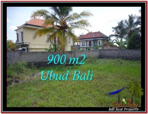 Magnificent 900 m2 LAND IN UBUD BALI FOR SALE TJUB532