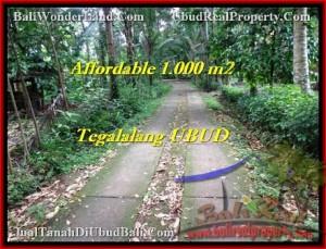 Magnificent PROPERTY UBUD LAND FOR SALE TJUB467