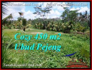 Beautiful UBUD BALI 450 m2 LAND FOR SALE TJUB535