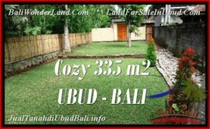 Exotic PROPERTY LAND FOR SALE IN UBUD TJUB537