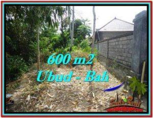 Affordable PROPERTY Sentral Ubud 600 m2 LAND FOR SALE TJUB523