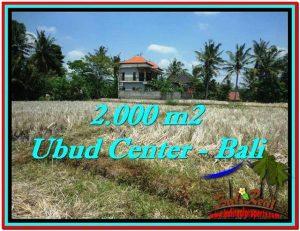 FOR SALE Magnificent PROPERTY 2,000 m2 LAND IN Sentral Ubud TJUB524