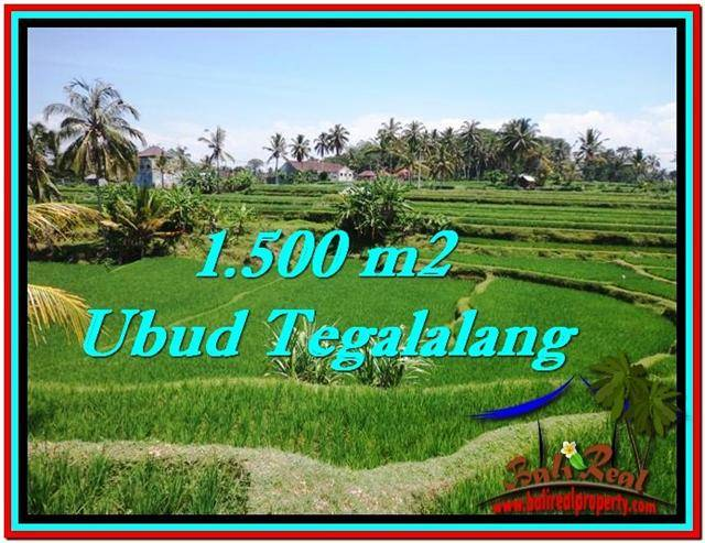 Magnificent UBUD LAND FOR SALE TJUB528