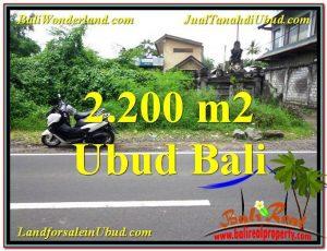 Beautiful PROPERTY Sentral Ubud 2,200 m2 LAND FOR SALE TJUB565